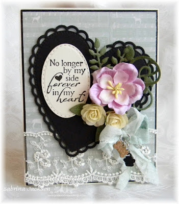 Our Daily Bread Designs Stamp set: Never Forgotten, Our Daily Bread Designs Custom Dies: Stitched Ovals, Cats and Dogs, Ornate Hearts, Fancy Foliage