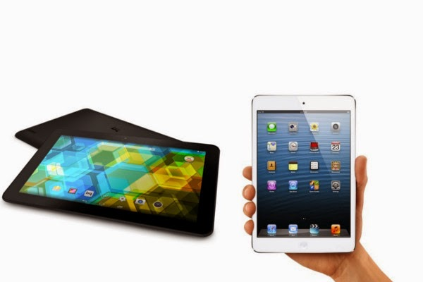 Bq Edison 3 VS iPad mini (2012)