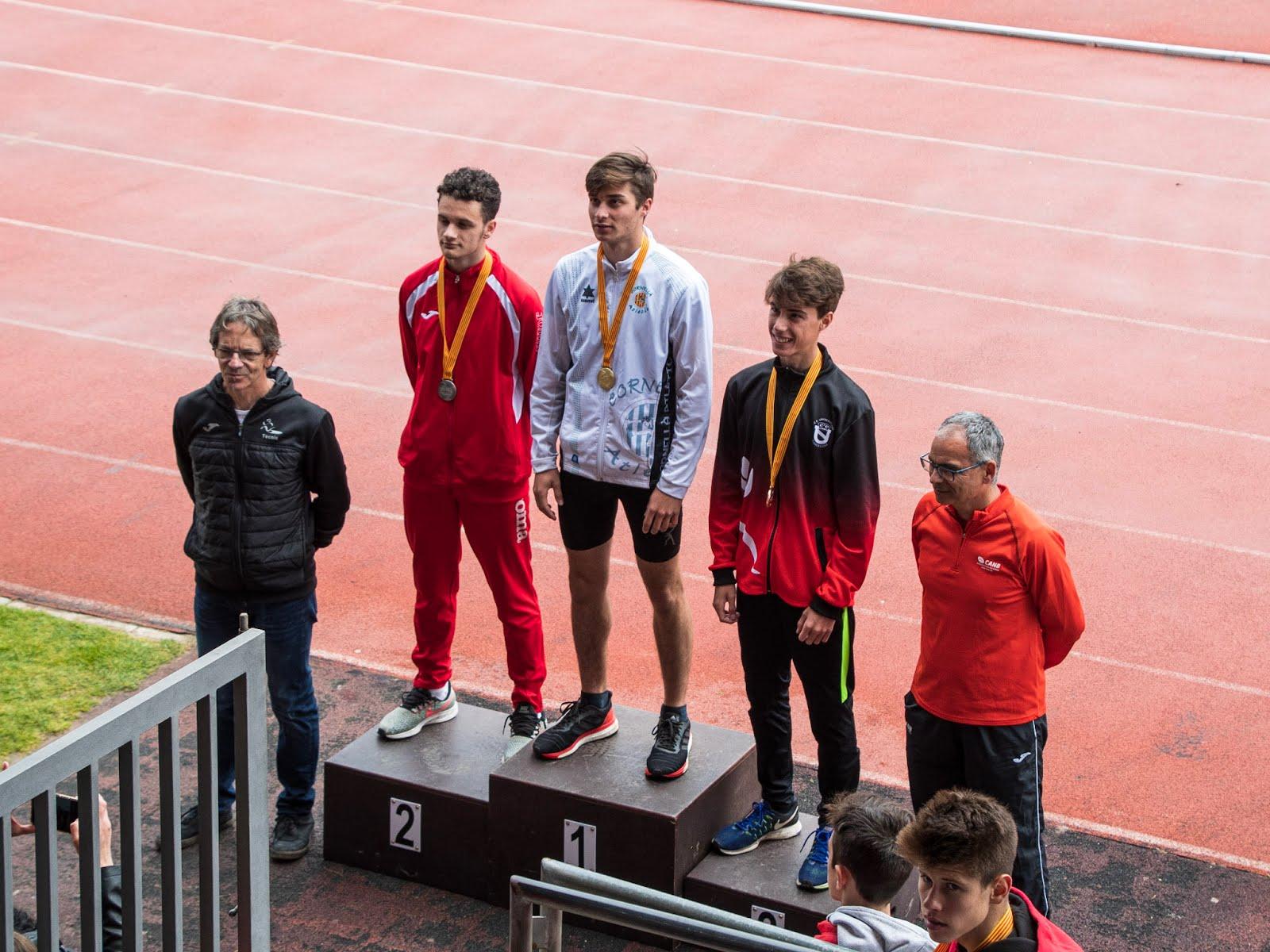 Bronze en el Campionat de Catalunya Sub18 2019