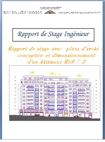 Rapport De Stage Ingnieur