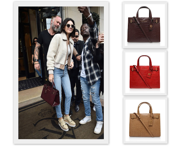 Kendall Jenner Kurt Geiger by What Laura did Next