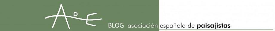 Blog de la Asociación Española de Paisajistas