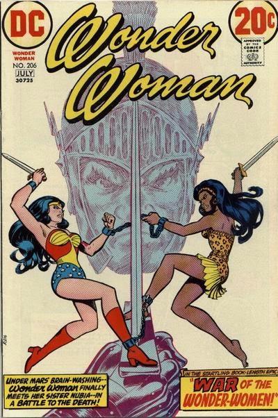 Wonder Woman #206, Nubia