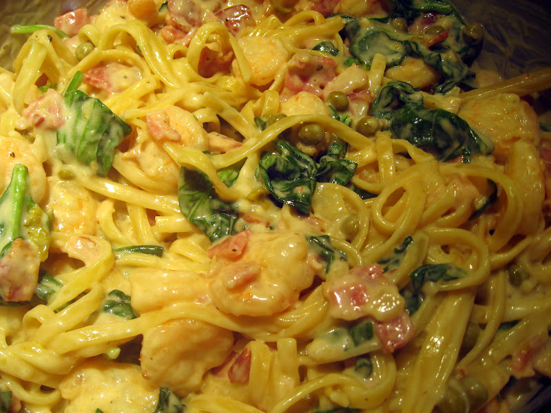 Spaghetti With Shrimp And Bacon Recipes — Dishmaps