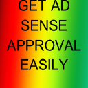 Text get ad sense approval easily