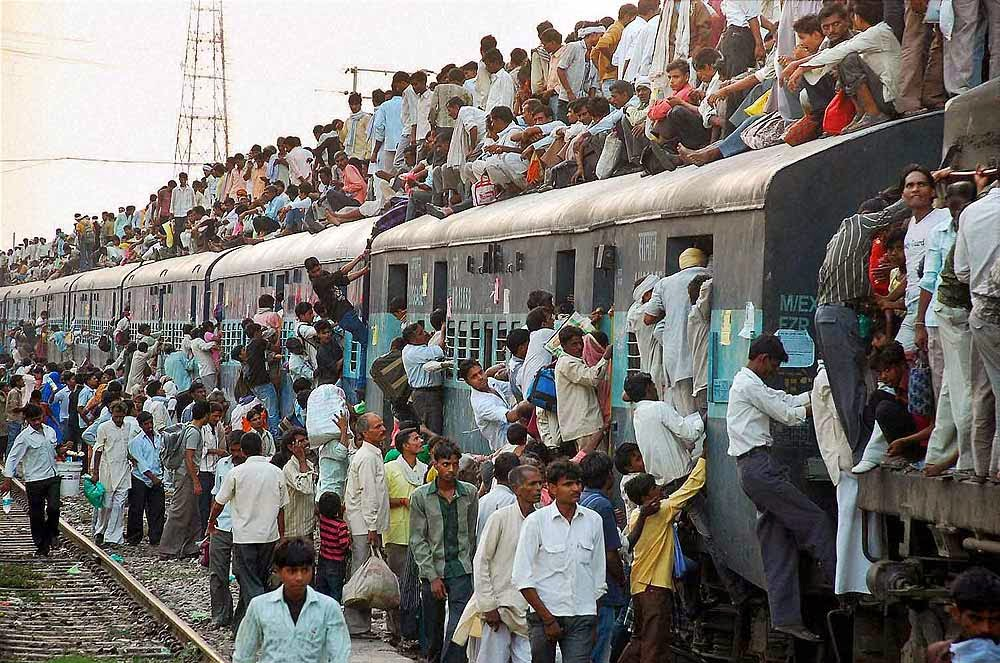 human population in india