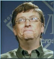A proud Bill Gates. Bings Supreme Commander