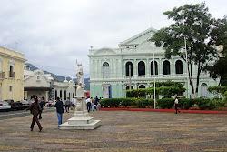 Parque Libertad, Centro Histórico ciudad de Santa Ana