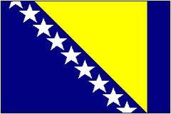صورة علم دولة جمهورية البوسنة والهرسك Bosnia and Herzegovina