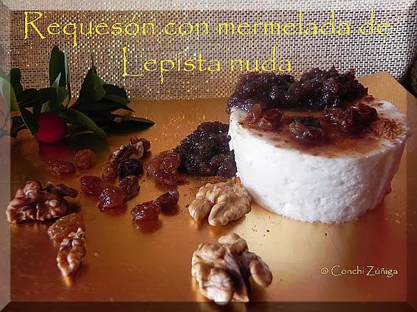 http://cocinandosetas.blogspot.com.es/2011/12/requeson-con-mermelada-de-lepista-nuda.html