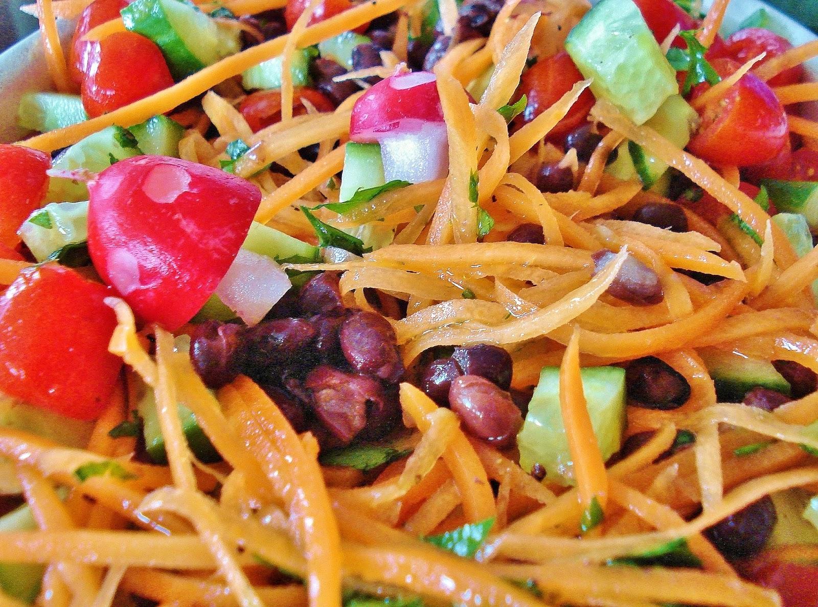 Gluten Free SCD and Veggie: Black Bean Salad GF SCD