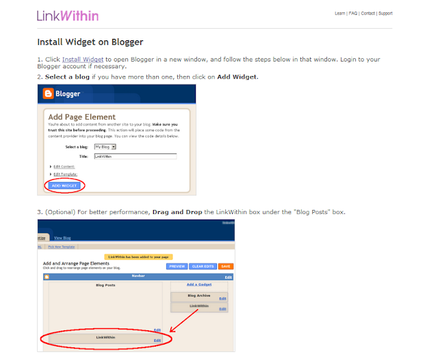 Related posts, with thumbnails, for blogger, How to Add