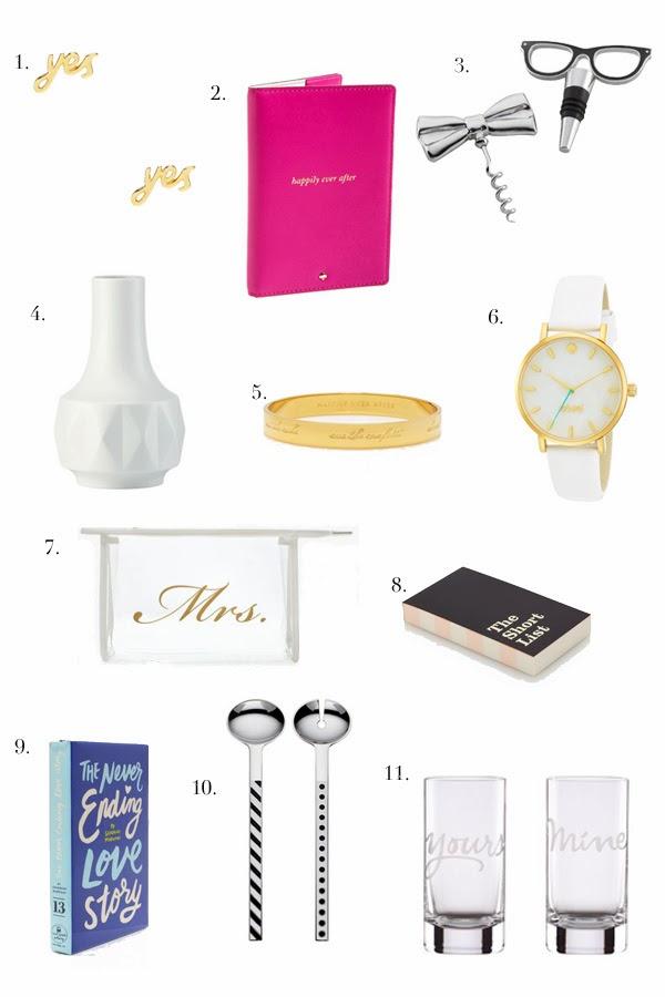 Kate Spade Wedding Gift Ideas : Devon Rachel: Bridal Gift Ideas