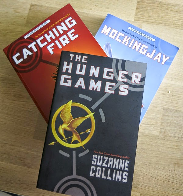 The Hunger Games, Catching Fire, Mockingjay