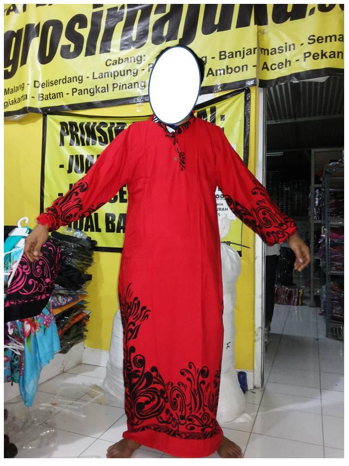 Gamis Motif Bali Murah
