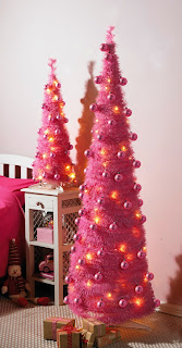 Pink Pop-Up Christmas Tree