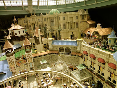 Attractions at the indoor park of Lotte World