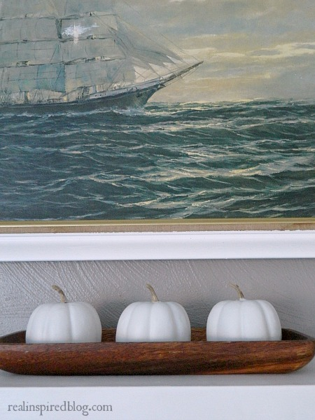 Nautical Neutral Natural Fall Mantel