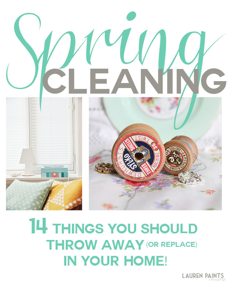 Spring Cleaning - 14 Things You Should Throw Away or Replace in Your Home!