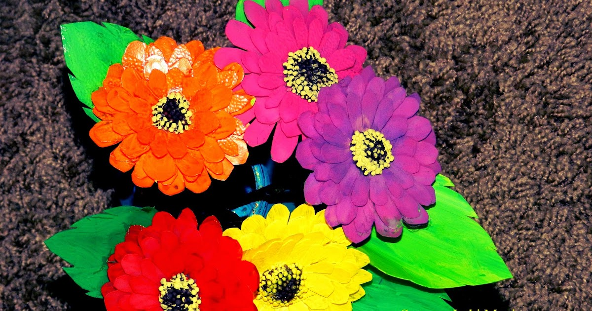 creative diy crafts  recycled milk jug crafts  zinnia