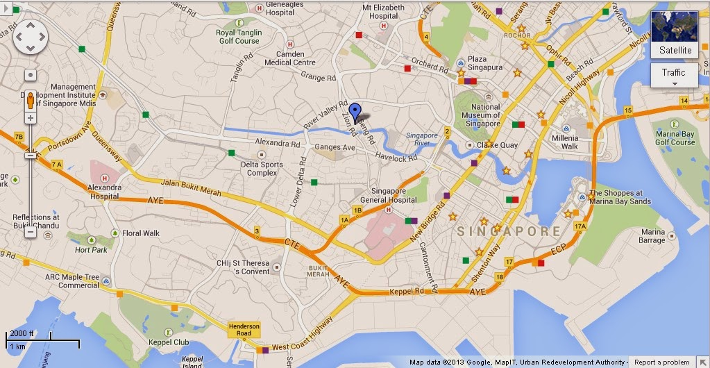 Detail Amazonia Singapore Location Map – Tourist Map Of Singapore City