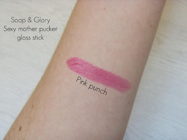 Soap & Glory Sexy mother pucker gloss stick - Pink punch