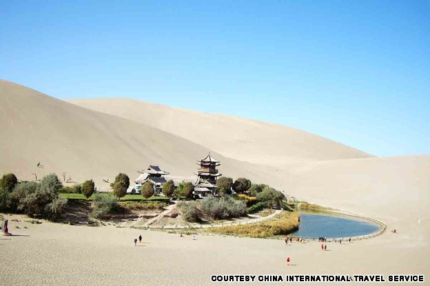 Echoing Sand Mountain and Crescent Lake, Dunhuang