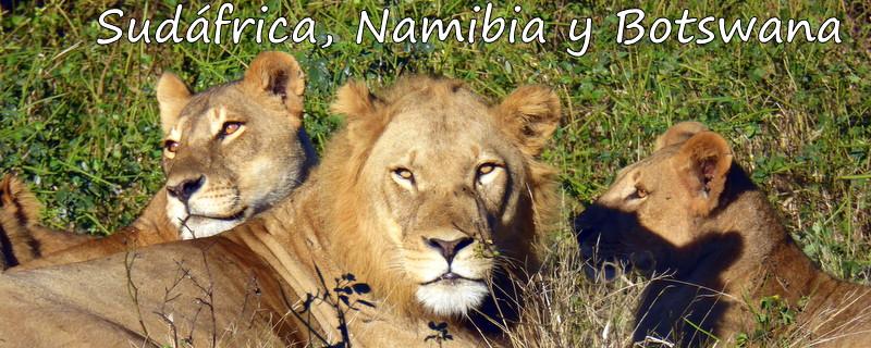 Sudáfrica, Namibia y Botswana