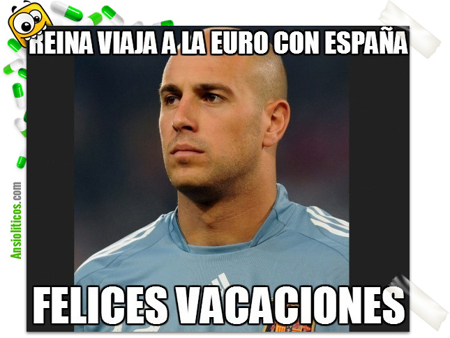 Chiste Eurocopa: Pepe Reina en la Selección