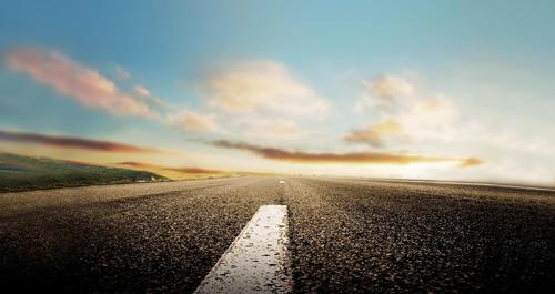 Gambar jalan, pemandangan sepanjang jalan, gambar nature