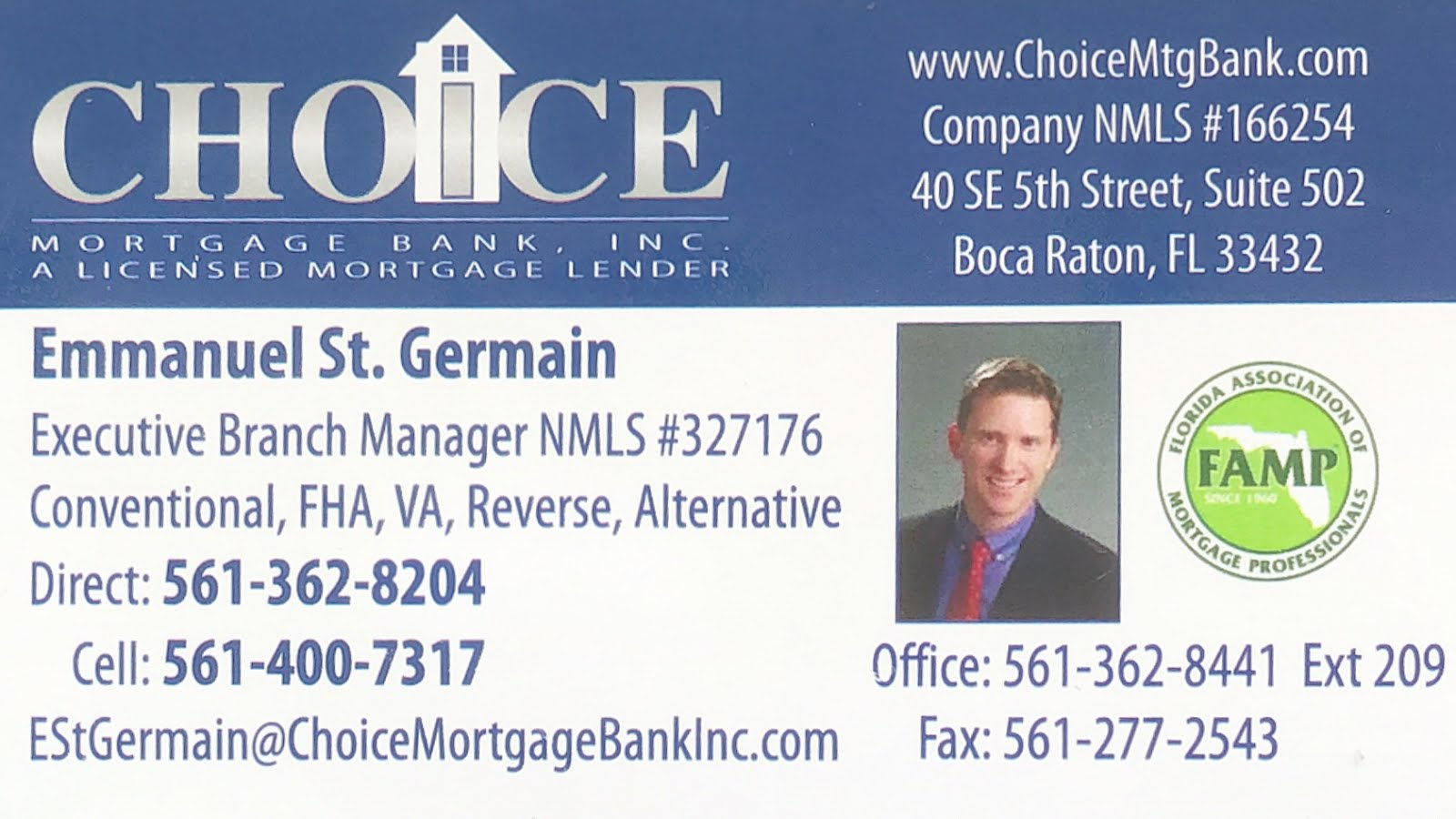 Choice Mortgage Reverse Mortgages