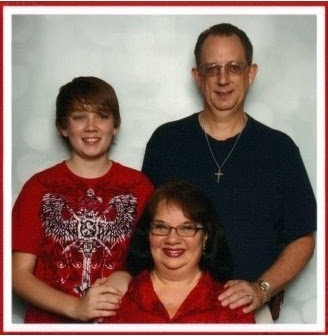 Rev, Carl, Jennie & Jonathan Heberg ~ 2011