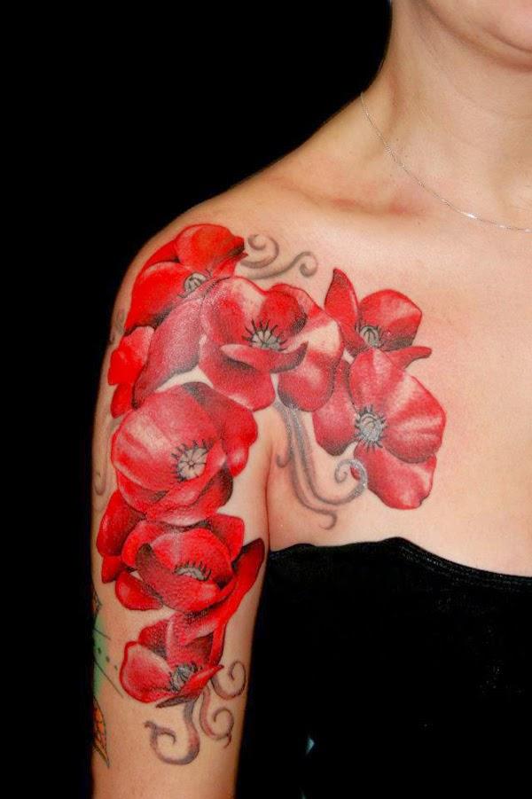 Tatuajes para Mujeres, Flores, parte 6