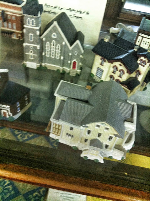 replicas of old town buildings