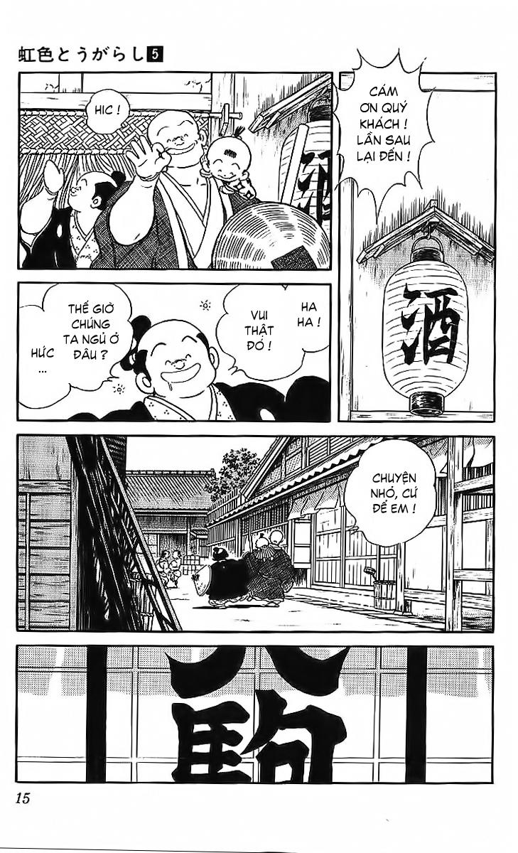 Nijiiro Togarashi - Ớt Bảy Màu chap 40 - Trang 14
