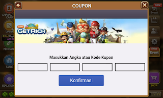 16 kode offline event coupon get rich 2016