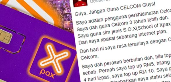 Lelaki Dakwa Dianiaya Perkhidmatan Celcom, KECOH!