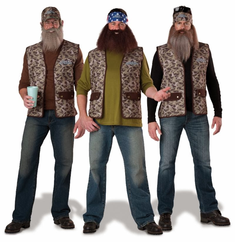 Lot of 10-Incharacter-Duck Dynasty-Uncle Si Costume-New in Pkg Ready for Resale