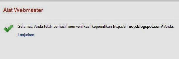 CARA MEMASANG META TAG SERTA VERIFIKASI PADA GOOGLE WEBMASTER
