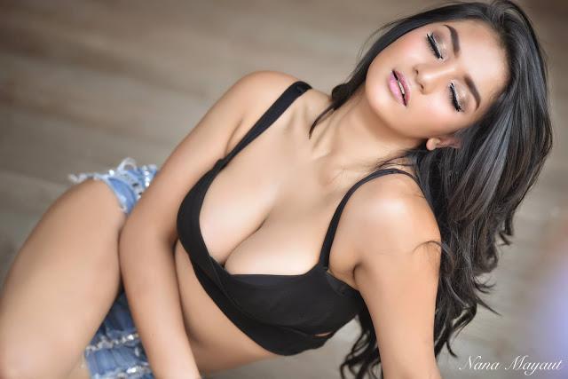 Siva Aprilia New Hot Black Photoshoot