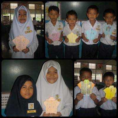 hasil kerja murid-murid Tahun 1 -2011