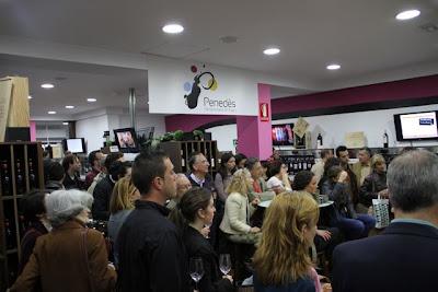 Presentación en El Sueño de Baco Vinos Penedès. Blog Esteban Capdevila