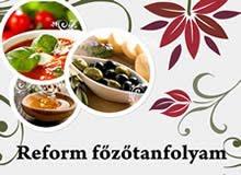 Reform főzőtanfolyamok