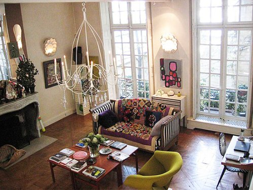 More french shabby chic apartments i heart shabby chic for Art decoration france