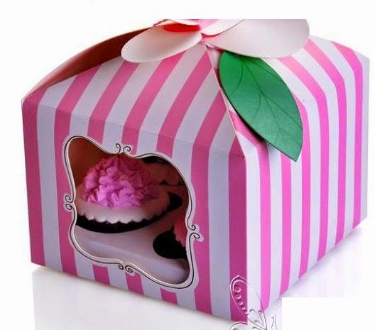Caja para guardar cupcakes