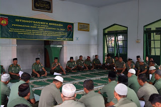 Syukuri Hari Juang Kartika Ke-70, TNI Doa Bersama Dan Istighosah