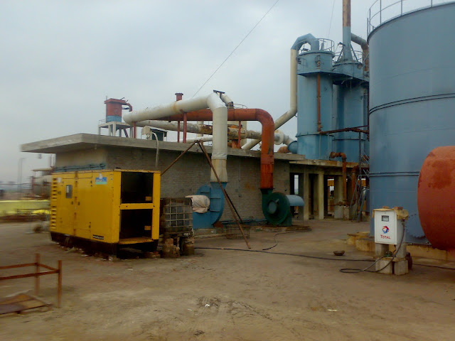 Sulfuric Acid Plant in Pakistan 100 Metric ton daily production by contact process single absorption, image by irfan ahmad plant operator