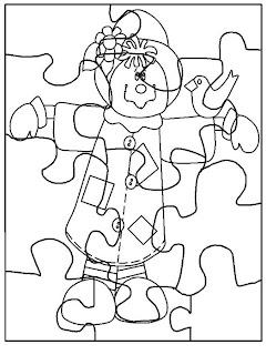 Desenhos de Quebra-Cabeça para imprimir