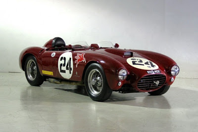 1954 Lancia D24 Racing Car - wallpaper