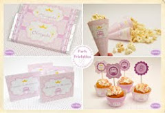 """Princess Printable Birthday Party Collection"""
